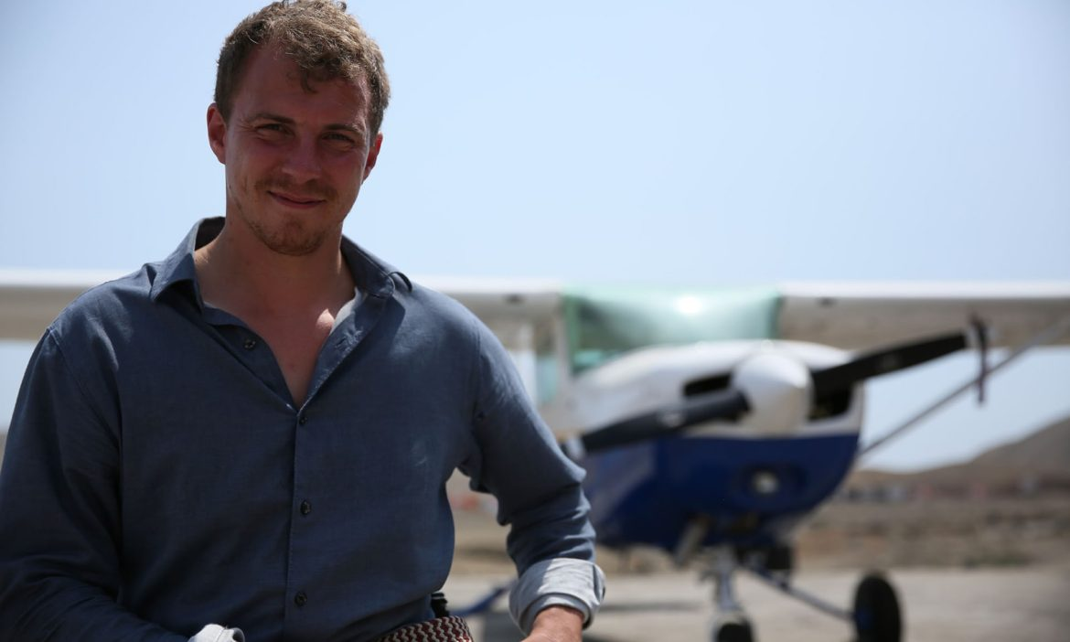 'Engaging': Arthur Williams in Flying to the Ends of the Earth Photograph: Channel 4